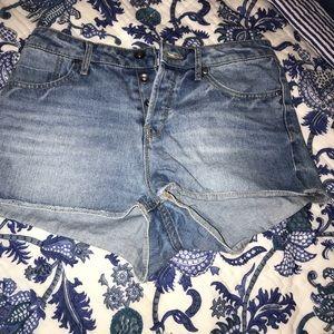 Roxy High-Rise Jean Shorts